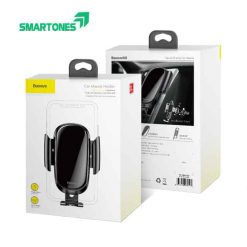 Baseus Car Phone Holder For Iphone Samsung Mobile Phone Holder Stand Metal Gravity Air Vent Mount 1.jpg