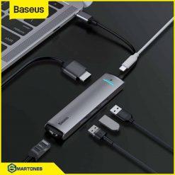Usb C Hub Baseus 6 In 1 Usb 30 Hdmi Rj45 15.jpg