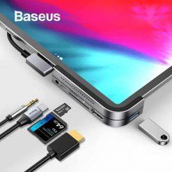 Usb Hub Baseus Bolt Type C Cho Laptop Tablet Smartphone 01.jpg