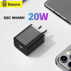 Sạc Nhanh Baseus Super Si 20w Iphone 15