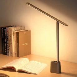 Đèn LED Baseus Để Bàn Thông Minh Thích Ứng Độ Sáng Mắt, Gập Gọn Có Thể Sạc Lại